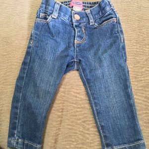 Infant denim jeans. size 0-3 months